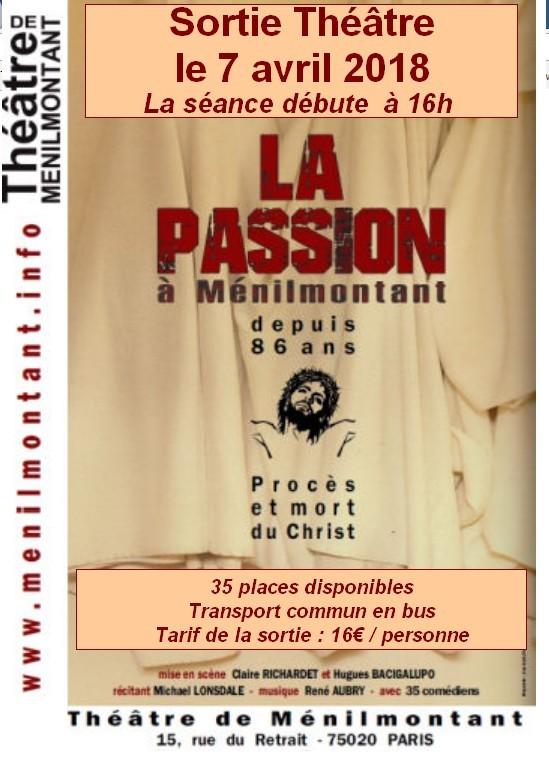 Affiche passion 7 avril 2020
