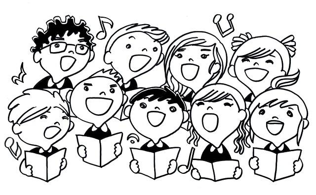 Ecole maternelle du cariot les concerts de la chorale des - Chorale dessin ...