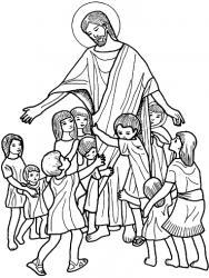 Jésus accueille les enfants